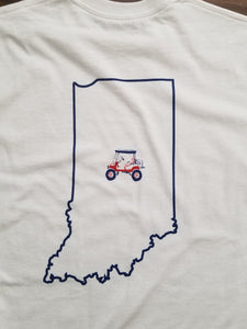 State Of Indiana Golf Cart T-Shirt