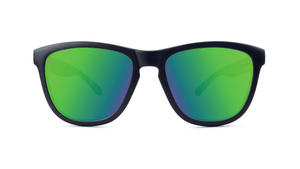 Black & Moonshine Green Polarized Sunglasses