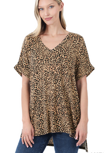 Mom's Day Out Leopard Top