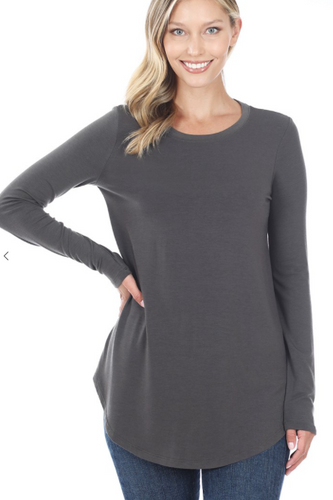 The Best Long Sleeve Top - Ash Grey