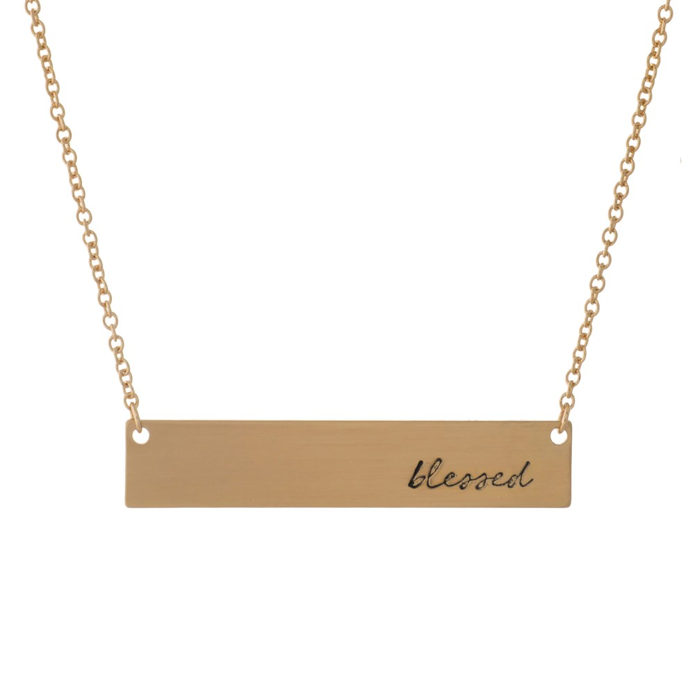 Blessed Necklace - Gold