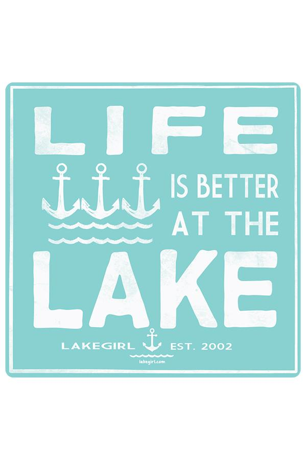 Lakegirl - Camptown Anchors Sticker