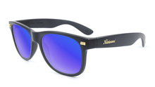 Load image into Gallery viewer, Fort Knocks - Matte Black & Moonshine Blue Polarized Sunglasses