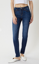 Load image into Gallery viewer, Kancan Mid-Rise Dark Denim Skinny Jean