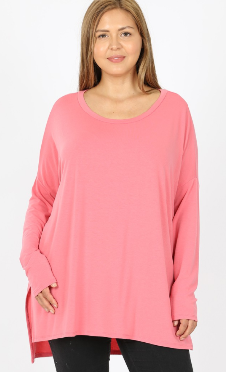 Rose Dolman Tunic