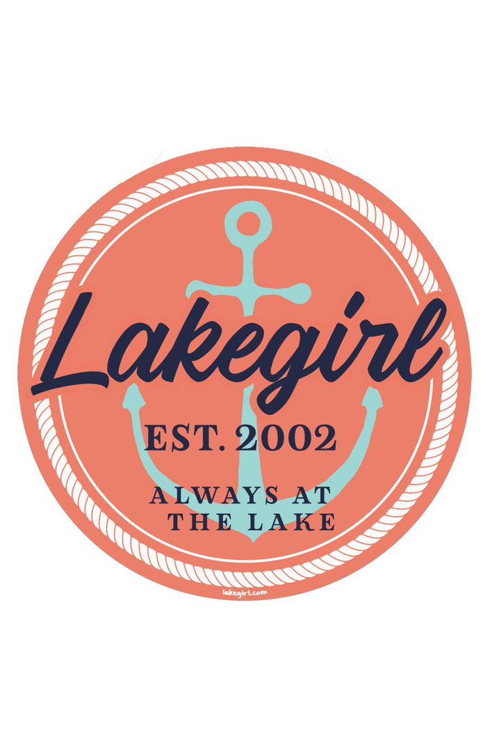Lakegirl - Dougan Anchor Sticker