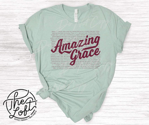 Amazing Grace Tee - 1XL Left