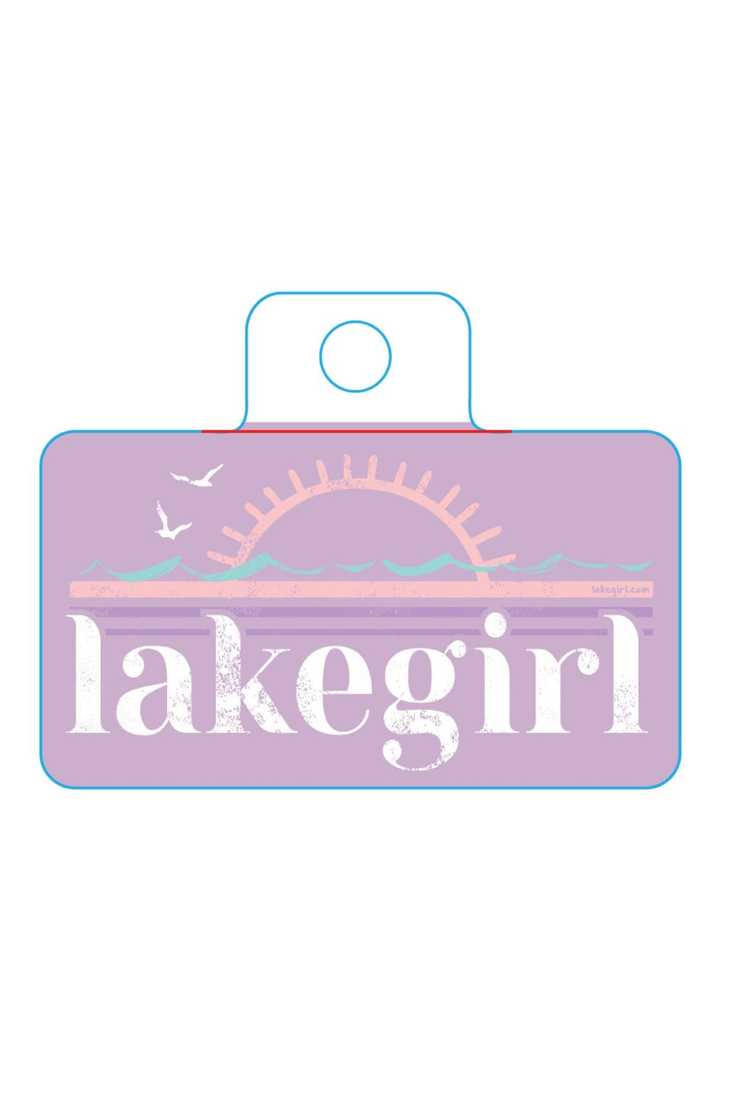 Lakegirl - Heartful Sun Sticker