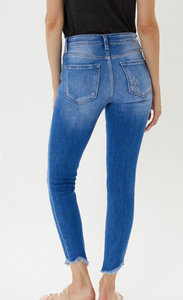 Kancan High-Rise Skinny Distressed Jeans