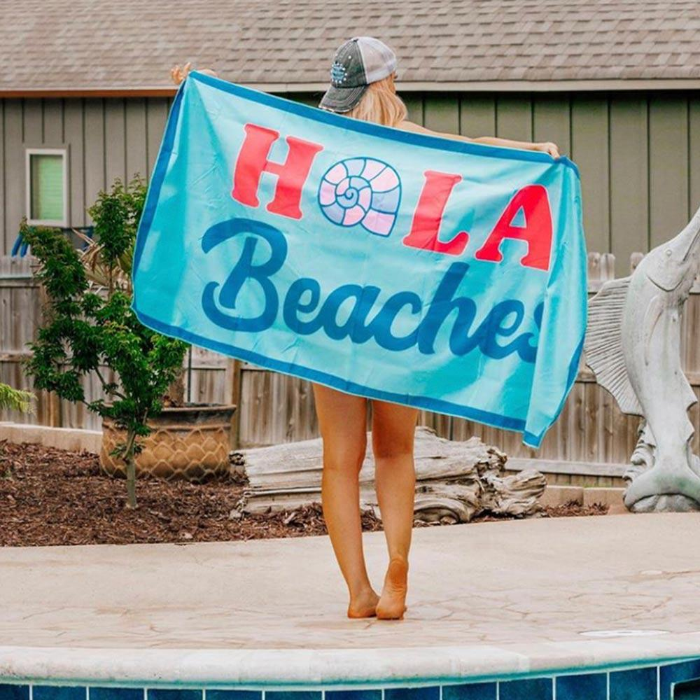 Hola Beaches Quick Dry Beach Towels