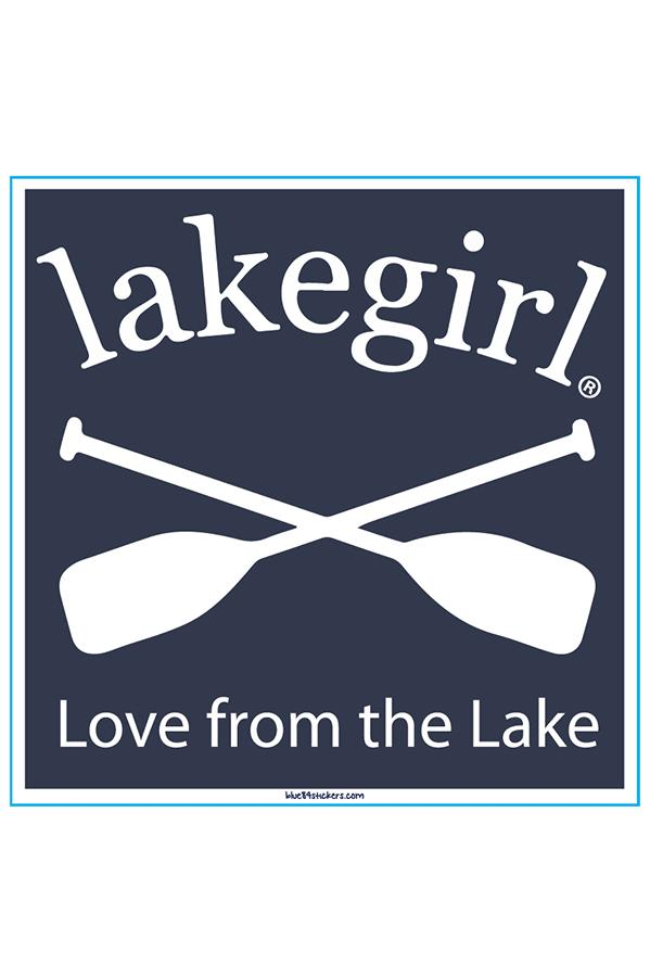 Lakegirl - Love From the Lake Sticker