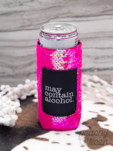 May Contain Alcohol Skinny Can Cooler