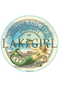 Lakegirl - Mermaid Sticker