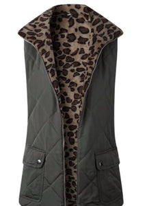 Army with Leopard Vest