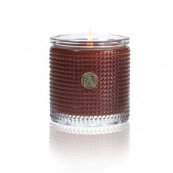 Pumpkin Spice - Aromatique - Textured Glass Candle - 6oz.