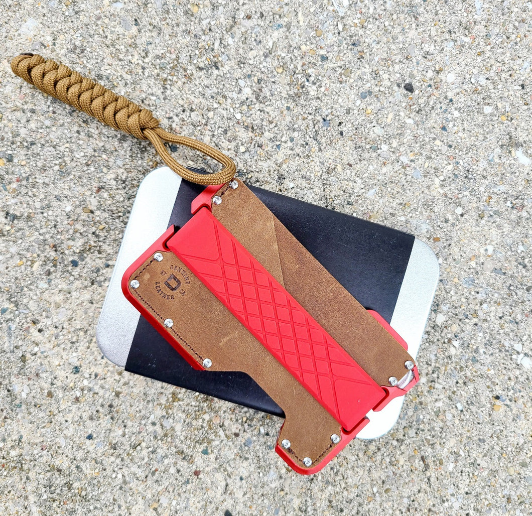 DANGO D01 DAPPER WALLET - SPECIAL EDITION: REDLINE