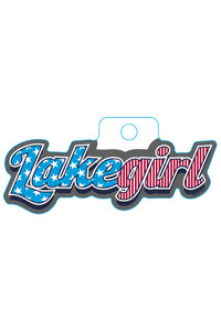 Lakegirl - Star Struck Sticker