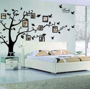Family Tree Self Adhesive Wall Sticker