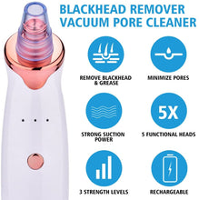 Load image into Gallery viewer, Electric Blackhead Pore Vacuum Extractor Tool