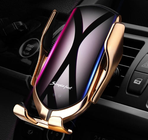 Smart Automatic 10W Wireless Car Charger Phone Holder