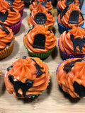 Halloween Cupcake Vanilla Mint Soap