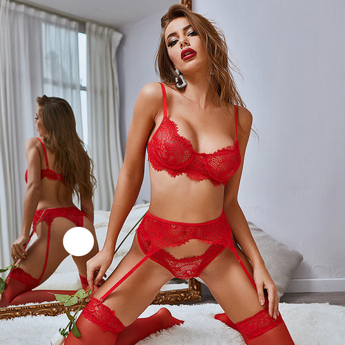 3 Piece Lingerie Set