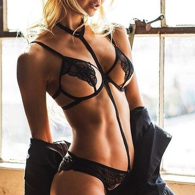 Sexy Two Piece Lingerie Set