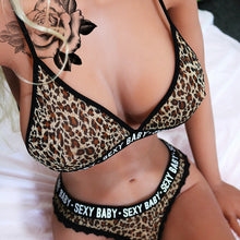 Load image into Gallery viewer, Leopard Print 2 Piece