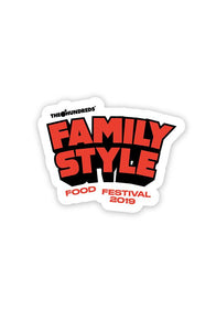Family Style Sticker