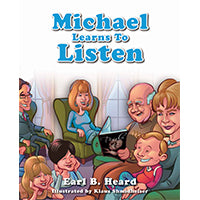 Michael Learns To Listen - Hardcover Book