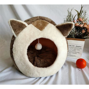 Warm Cozy Cat Bed