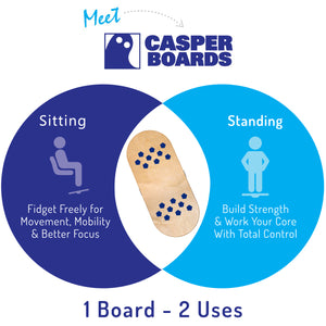 Casper Board - The 2 in 1 Active Working System