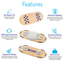 Casper Board - The Active Working Footrest