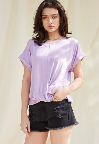 Bamboo Lavender Tee