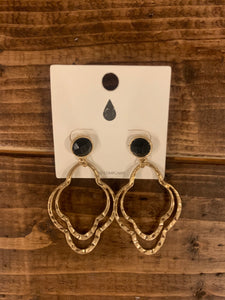 Gold Layered Earrings