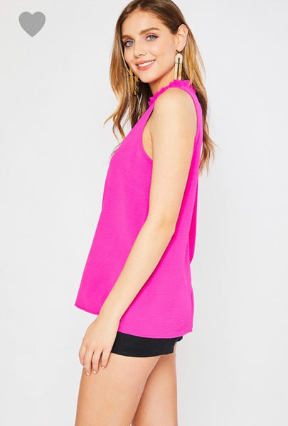 Hot Pink Blouse