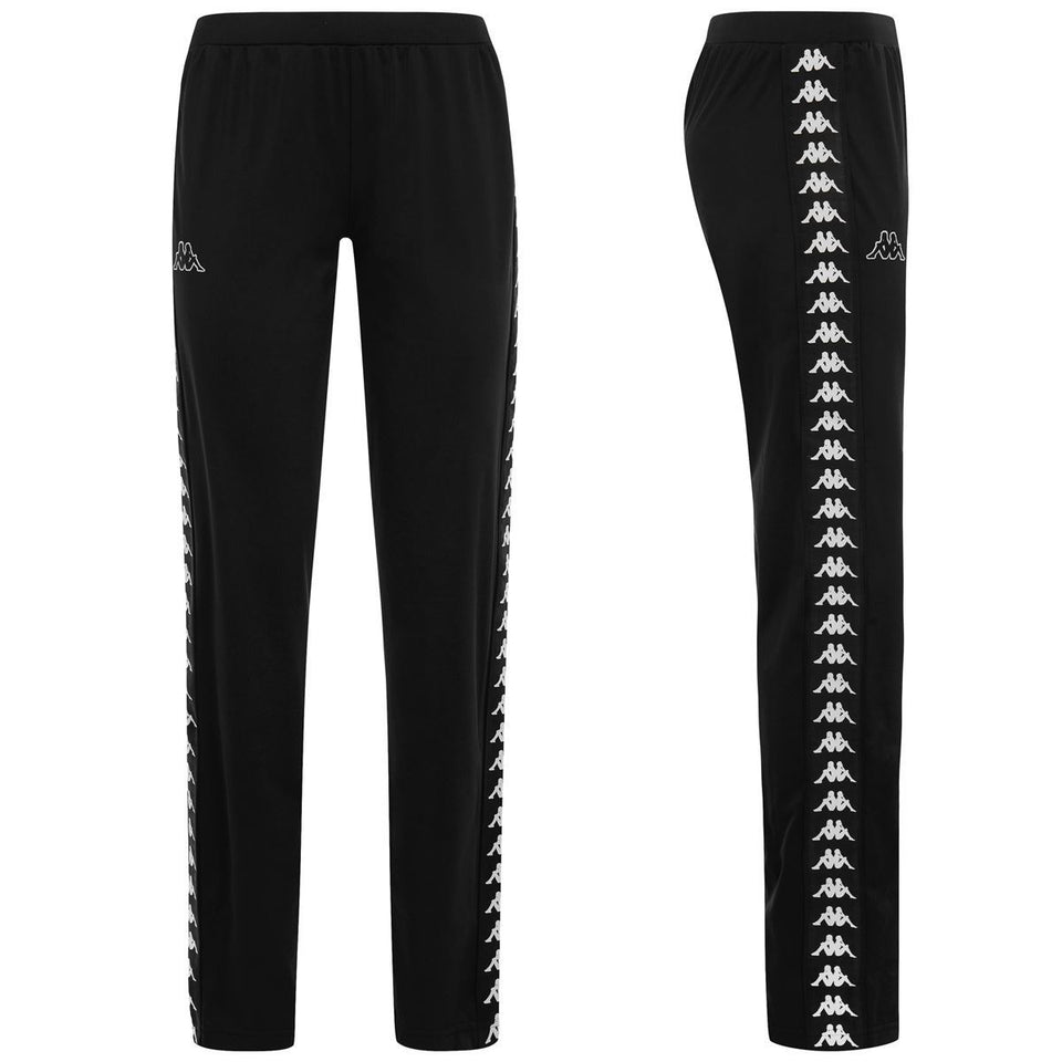 BANDA WASTORIA SLIM FIT WOMENS ATHLETIC PANTS COLOR BLACK-WHITE