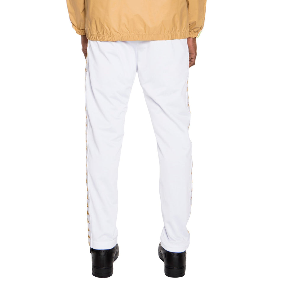 BANDA ASTORIA SLIM MENS SPORT TROUSERS COLOR WHITE-GOLD