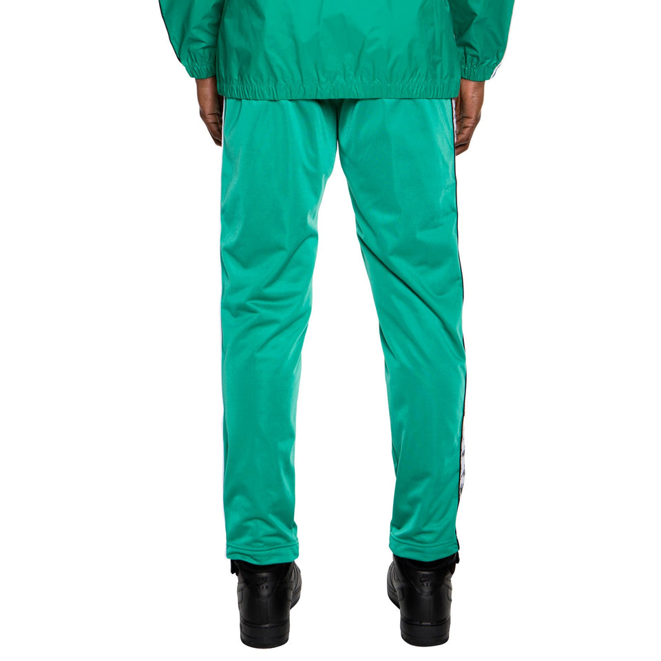 BANDA ASTORIA SLIM MENS SPORT TROUSERS COLOR GREEN-BLACK-WHITE