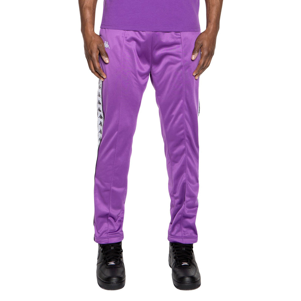 BANDA ASTORIA SLIM MENS SPORT TROUSERS COLOR VIOLET-BLACK-WHITE