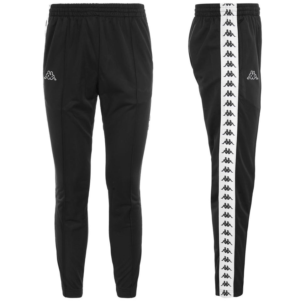 BANDA ASTORIA SLIM MENS SPORT TROUSERS COLOR BLACK-WHITE