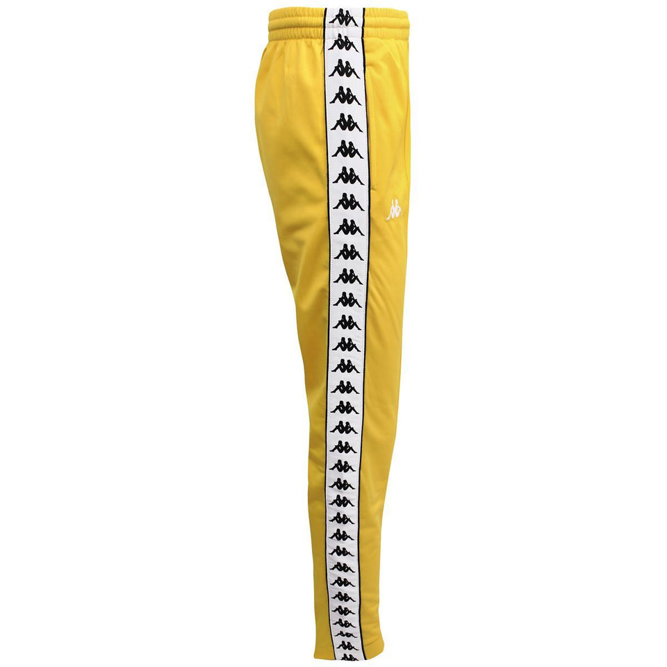 BANDA ASTORIA SLIM MENS SPORT TROUSERS COLOR YELLOW-BLACK-WHITE