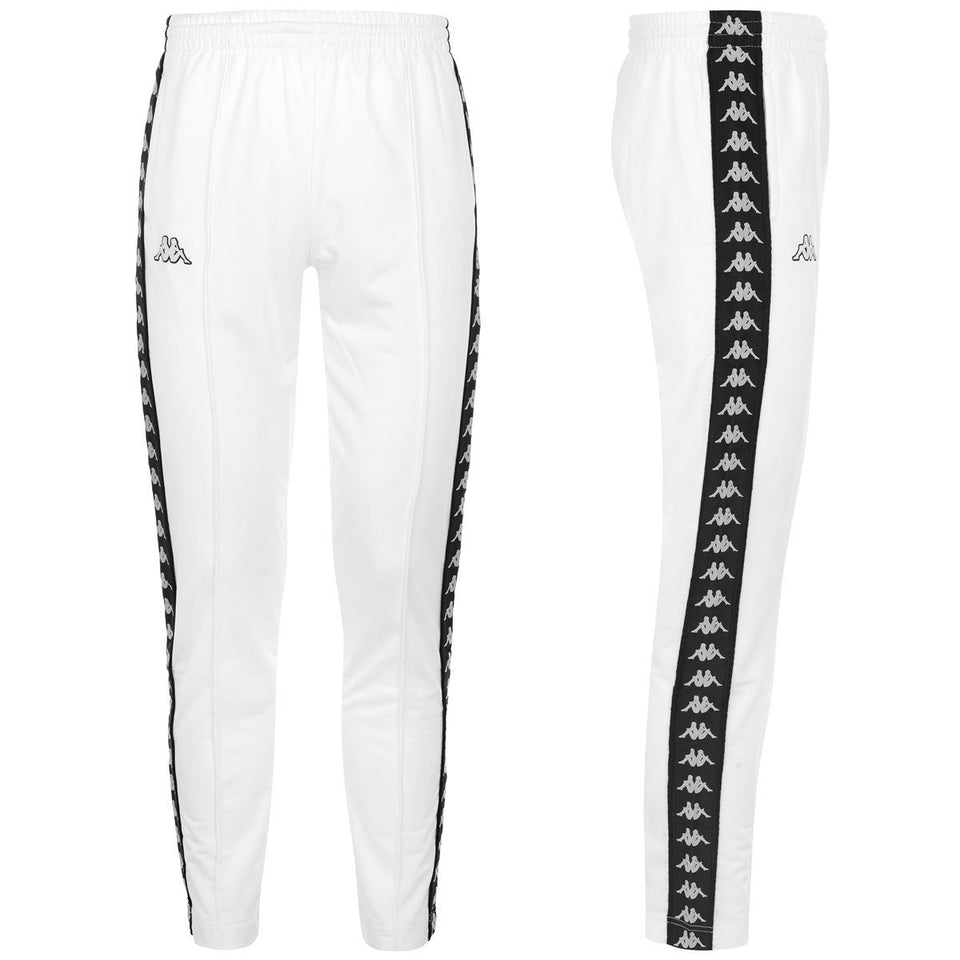 BANDA ASTORIA SLIM MENS SPORT TROUSERS COLOR WHITE-BLACK
