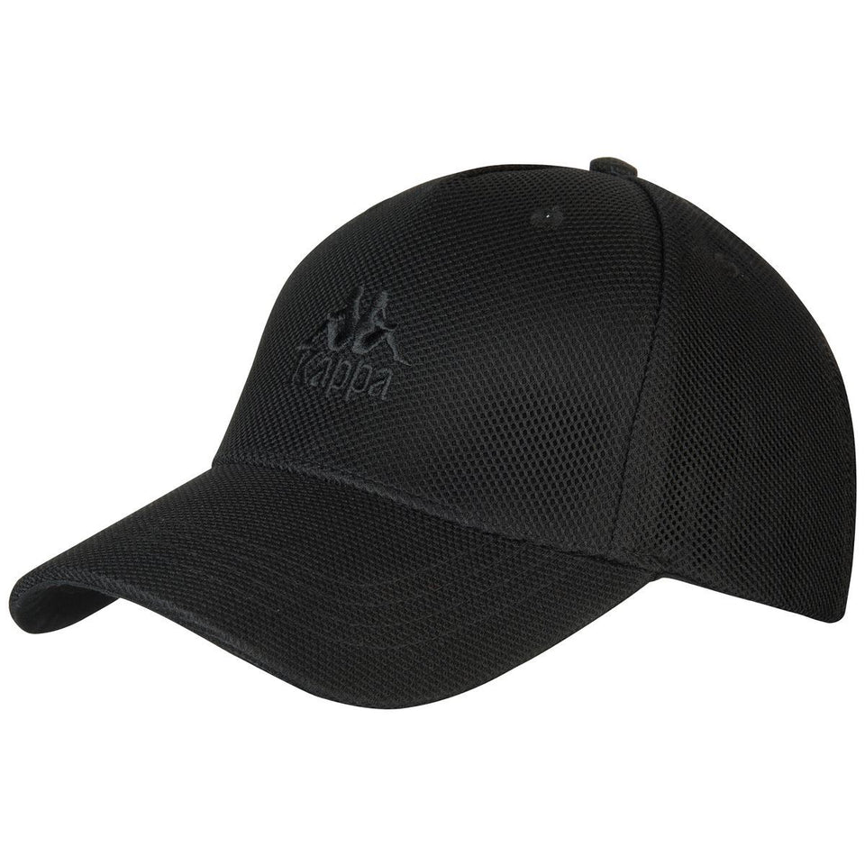KAPPA AUTHENTIC AONROE UNISEX CAPS COLOR BLACK