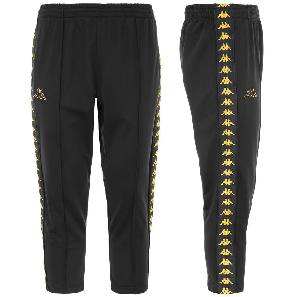 BANDA ADERN MENS REG FIT CROP PANT COLOR BLACK-GOLD