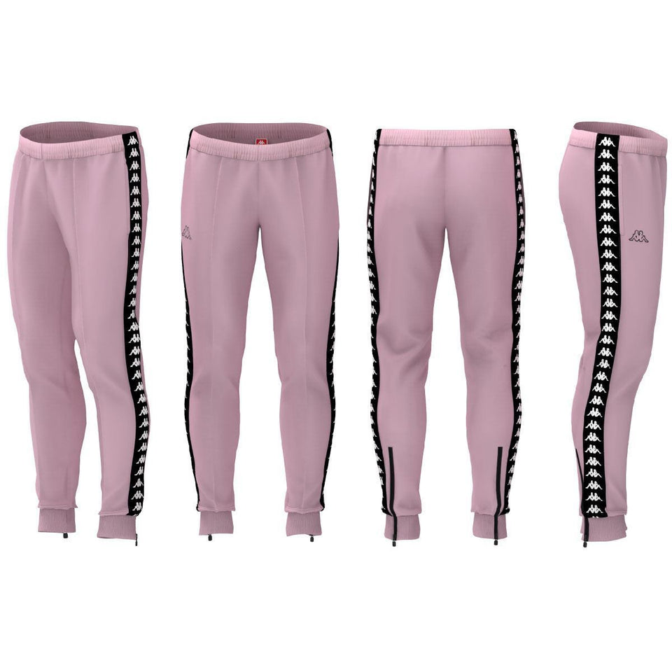 BANDA RASTORIA SLIM KID'S CLASSIC JOGGER PANT COLOR PINK SOFT-BLACK