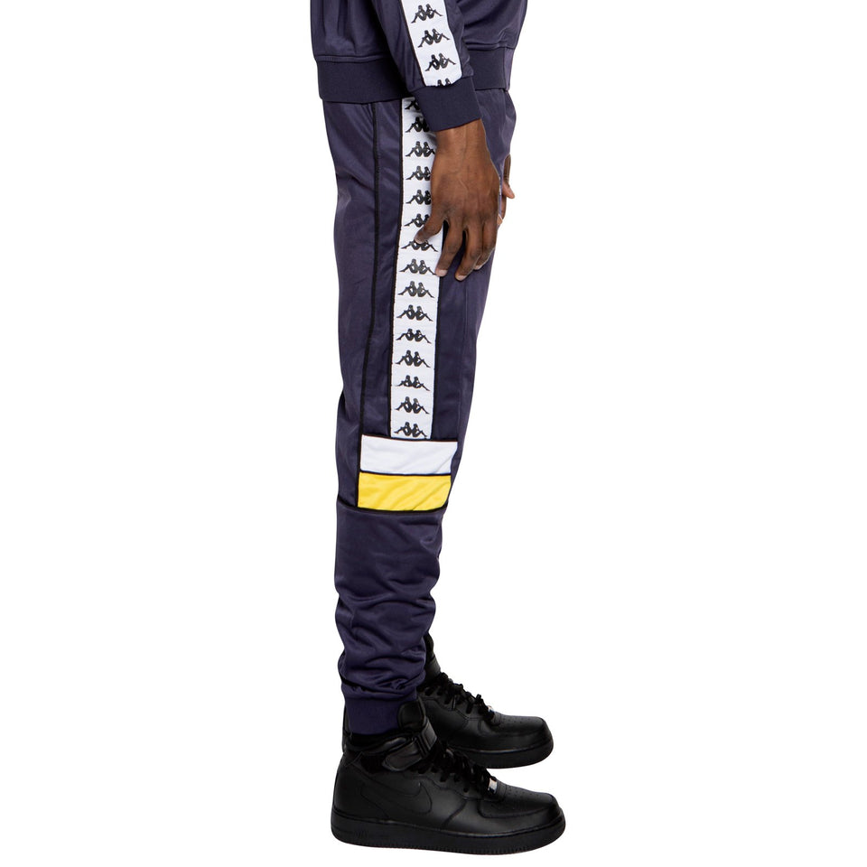 BANDA MEMS SLIM MENS ATHLETIC PANTS COLOR BLUEMAR-YELLOW-WHITE