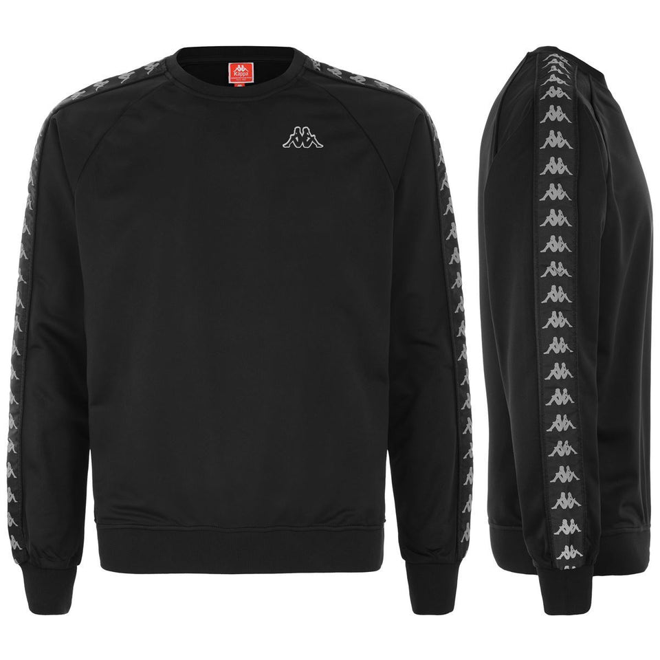 BANDA GHIAMIS MENS REG FIT SWEATSHIRT COLOR BLACK-GREY