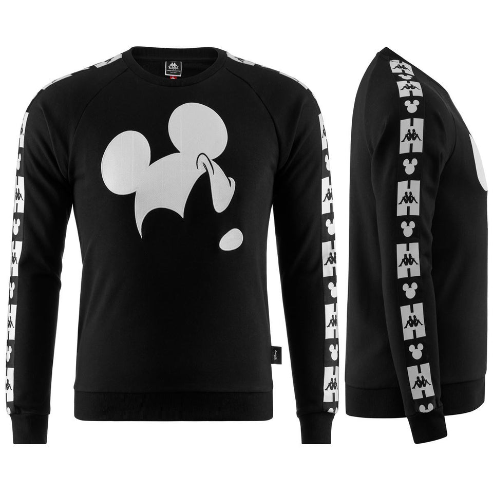 AUTHENTIC AUDLEY DISNEY UNISEX REGULAR FIT SWEATSHIRT COLOR BLACK