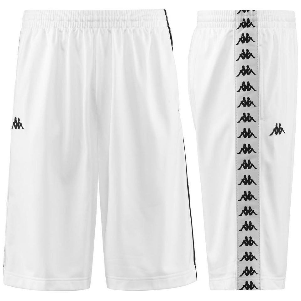 BANDA TREADWELL YOUTH REGULAR FIT BERMUDA SHORTS COLOR WHITE-BLACK-WHITE